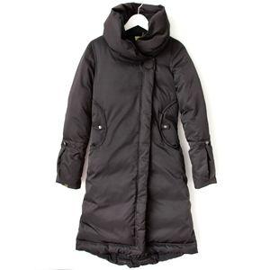 SOIA & KYO Pillow Collar Down Coat, XS